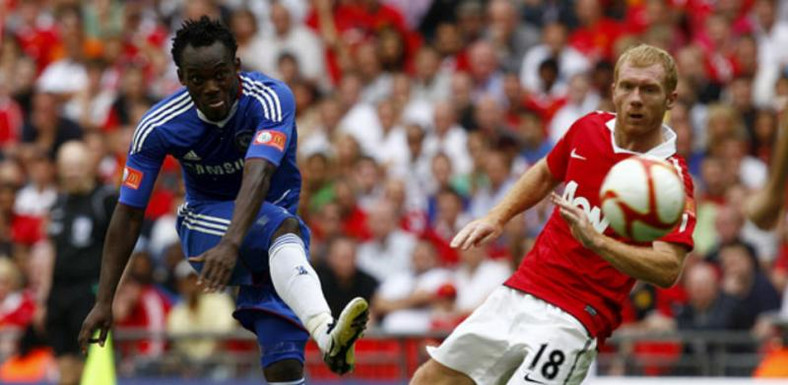 Michael Essien names Scholes and Gerrard as his toughest opponents
