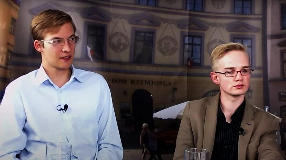 Od lewej: Szymon Dziubicki i Piotr Patkowski