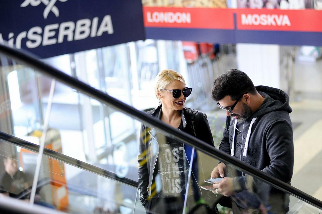 Lazukić i Bekvalčeva uhvaćeni na aerodromu