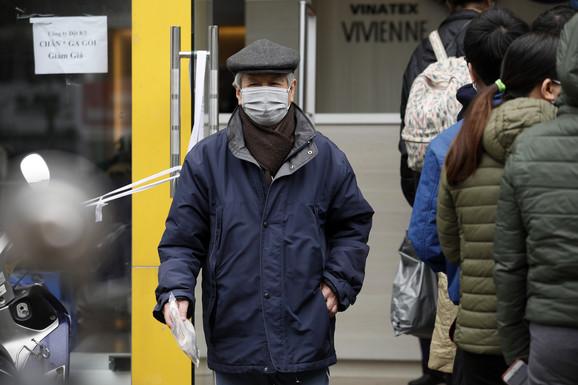 Maske se nose i u Vijetnamu