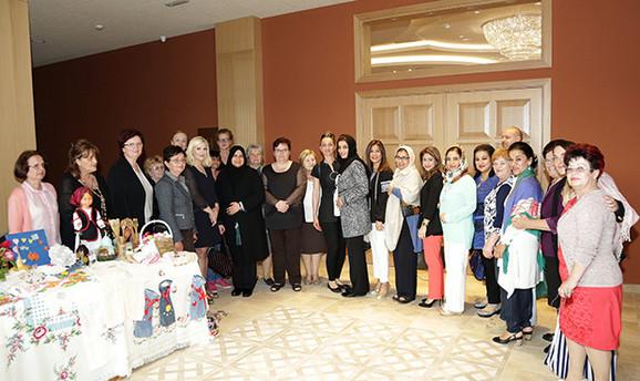 Delegacija poslovnih žena iz Ujedinjenih Arapskih Emirata