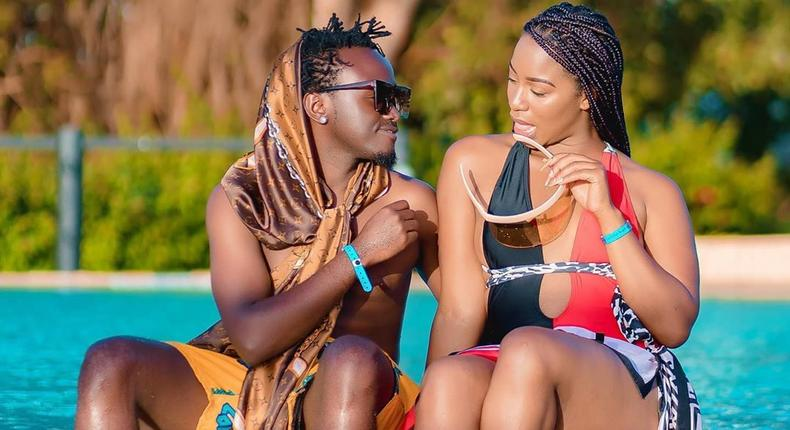Diana Marua and Kevin Bahati
