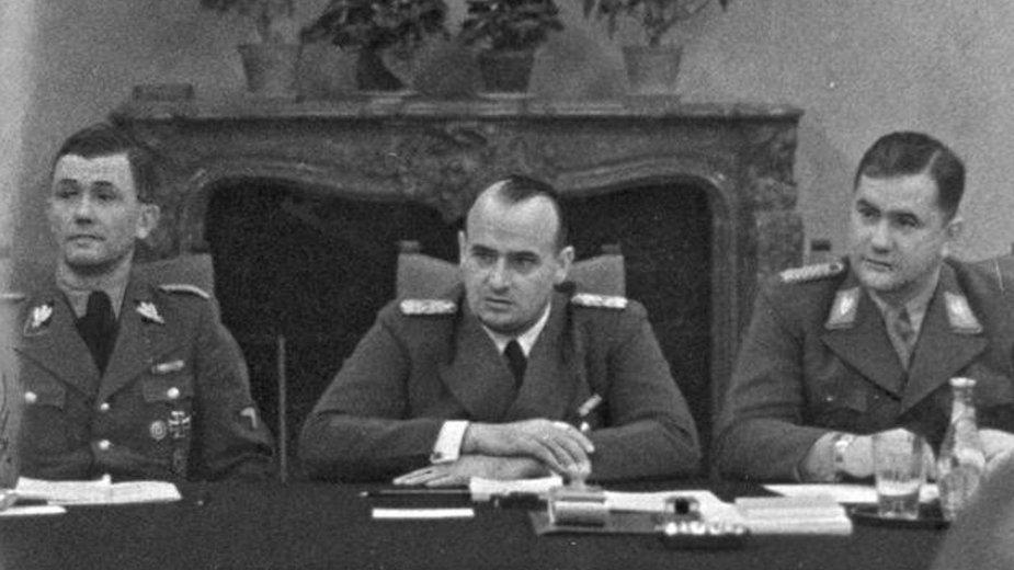 Paul Moder, Hans Frank, Ludwig Fischer