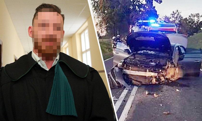 Dwie kobiety zginęły w wypadku, w którym brał udział adwokat Paweł K.