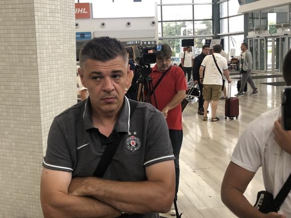 Savo Milošević pred put u Tursku