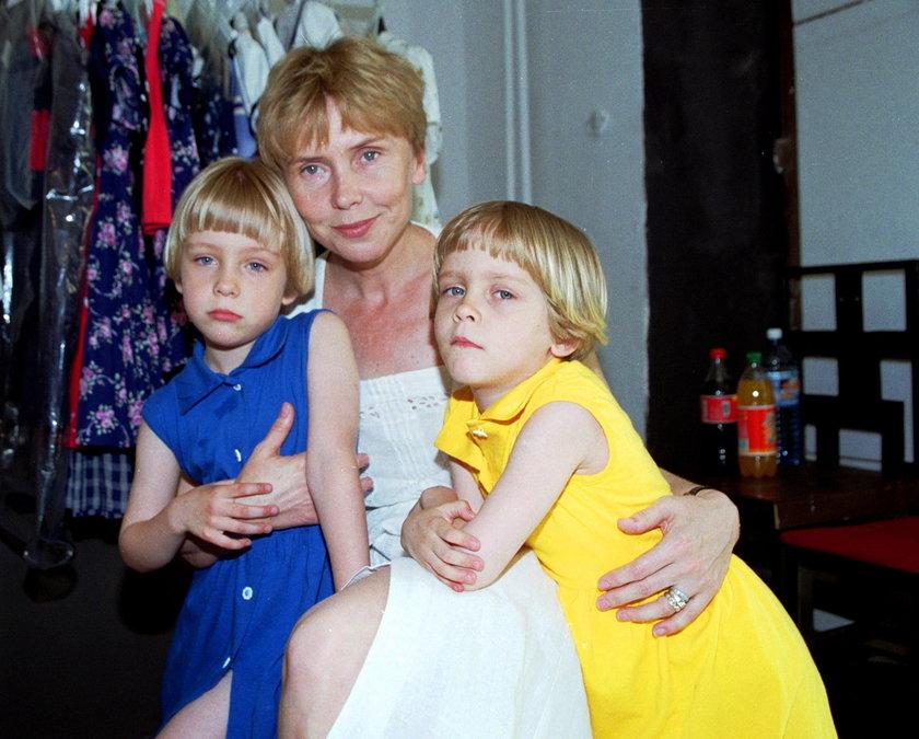 Ewa Błaszczyk z córkami