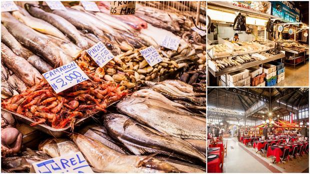 Santiago, Chile. Mercado Central