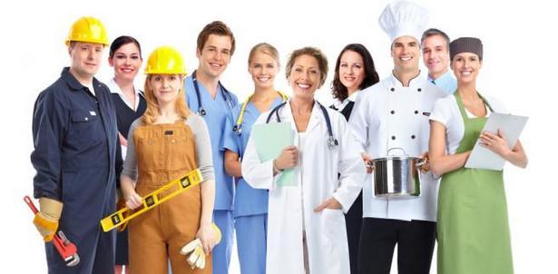 Potrzebni są ludzie do pracy w takich profesjach jak robotnik gospodarczy, technik prac biurowych czy telemarketer.