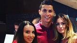 Dziewczyna Milika z... Ronaldo!