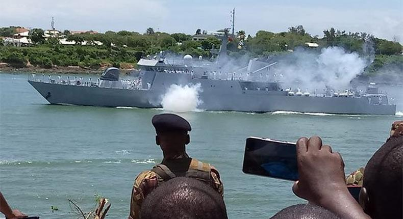 Kenya navy grace Mashujaa day with spectacular display of marine maneuvers and vessels in a break from tradition [Video]