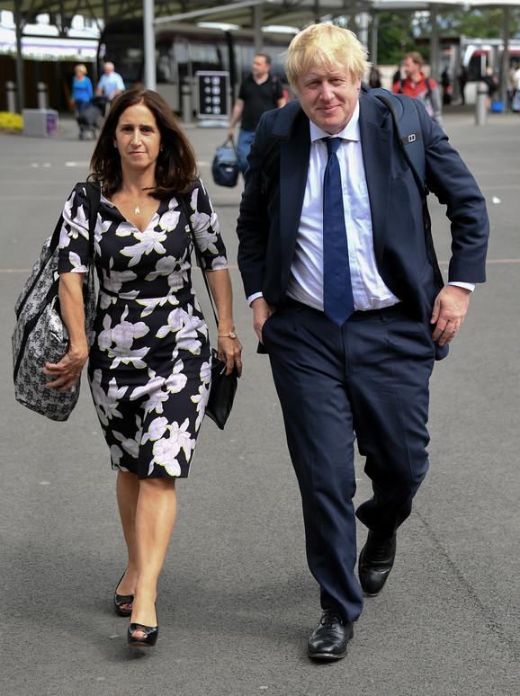 Boris Džonson sa nekadašnjom suprugom