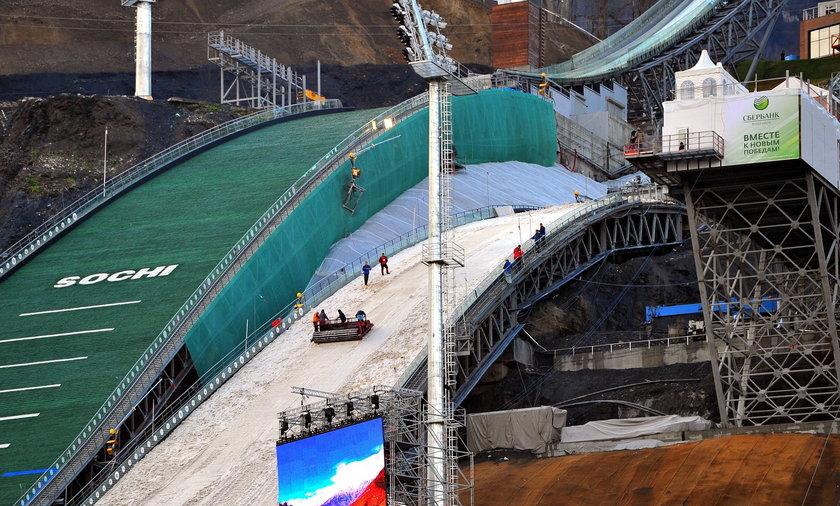 Skocznia olimpijska w Soczi