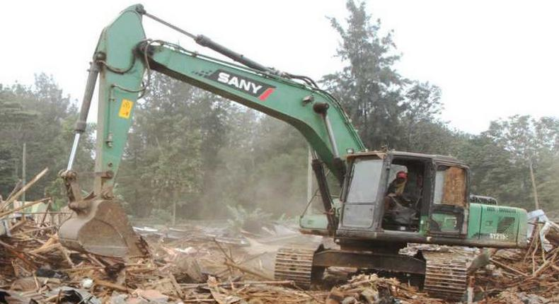 Sany ready to demolish more buildings in Nairobi
