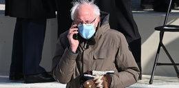 Bernie Sanders i historia rękawic, o których mówi cały świat