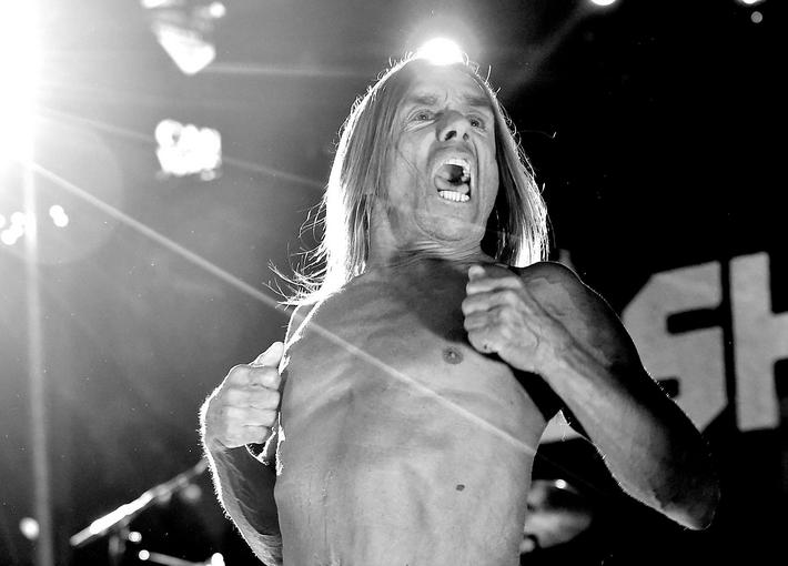 "Iggy Pop Performs At The Premiere Of STARZ's ""Ash vs Evil Dead"""