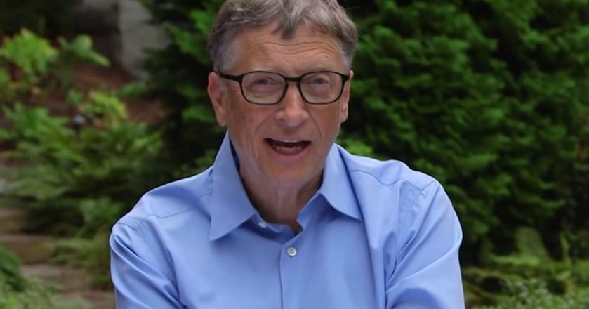 Bill Gates lubi zapisywać swoje pomysły i przemyślenia, żeby nie umknęły