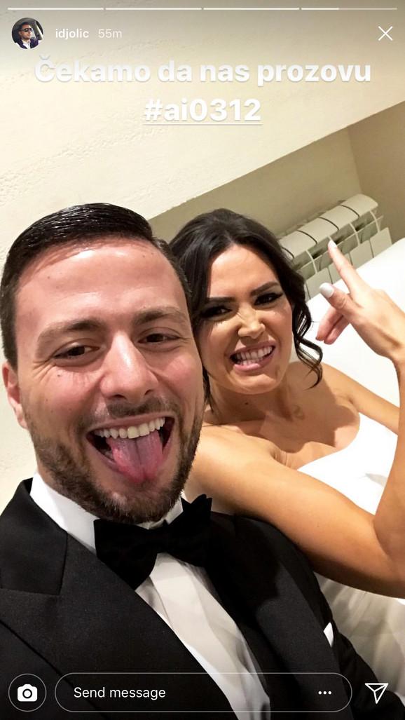 Ana Bebić i suprug Ivan Đolić