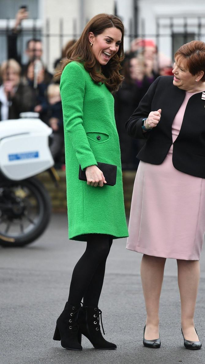 Vojvotkinja od Kembridža u poseti osnovnoj školi u Londonu