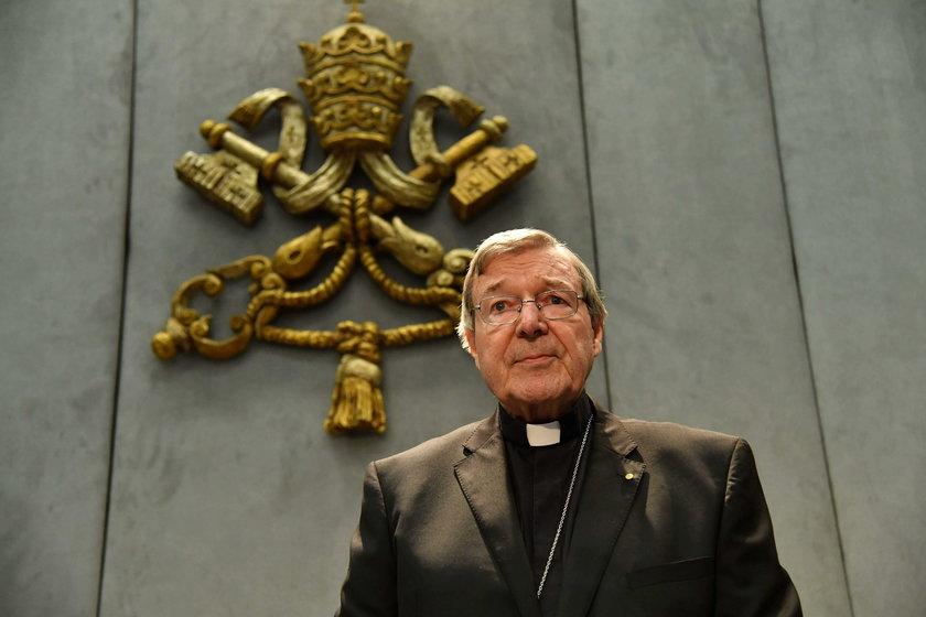 Doradca papieża Franciszka kard. George Pell oskarżony o pedofilię