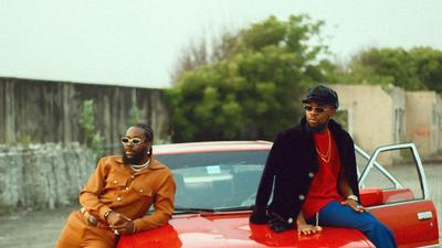 Adekunle Gold and Patoranking floss and flex their hard drip in new video for, 'Pretty Girl'