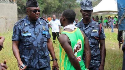 Police grab illegal Milo marathon athlete
