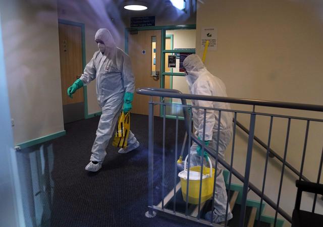 Koorna virus u Velikoj Britaniji