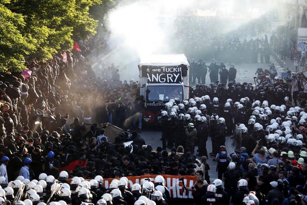 Protest w Hamburgu