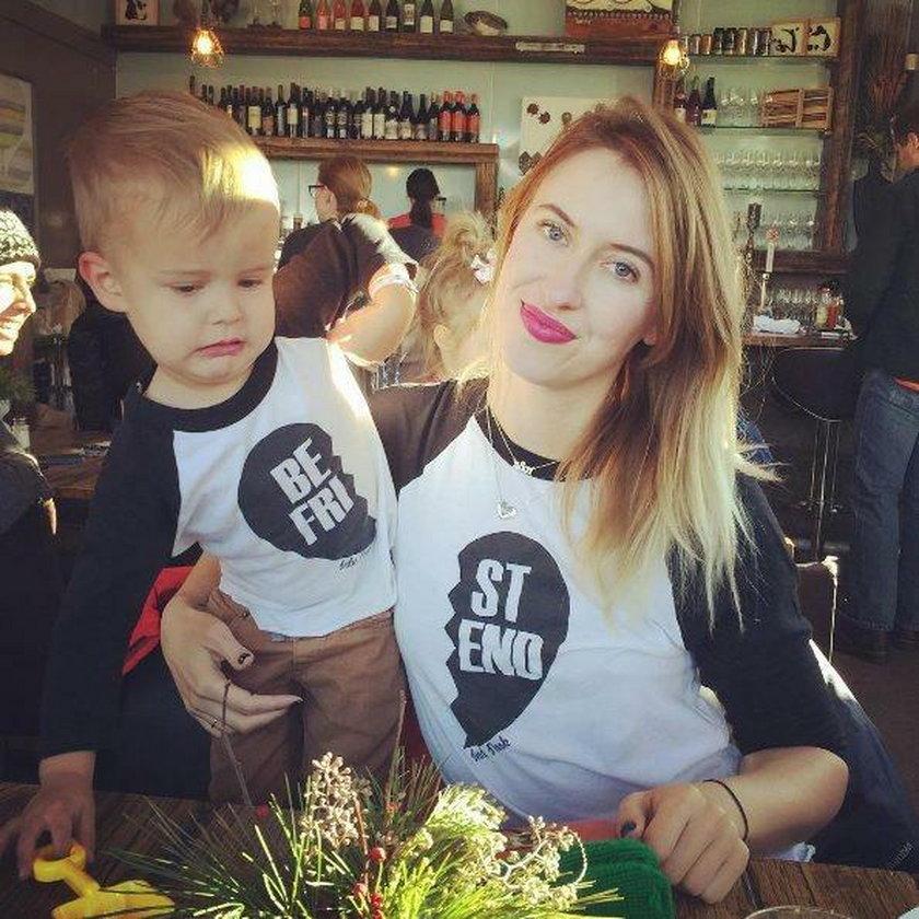 Nora z synkiem