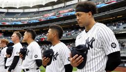 Members of the New York Yankees.