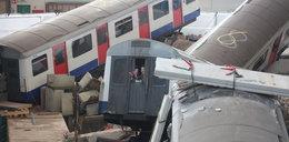 Kolejowa katastrofa. Szokujące zdjęcia. Po co je zrobiono?