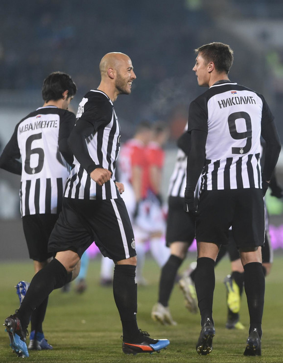 Detalji sa utakmice Proleter - Partizan
