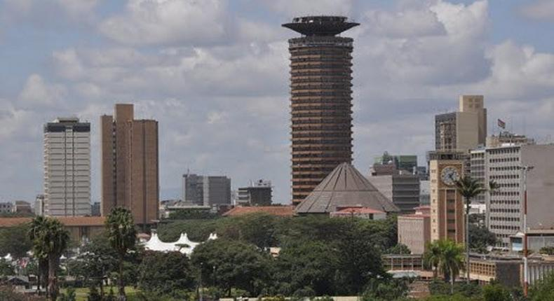The Nairobi City Skyline