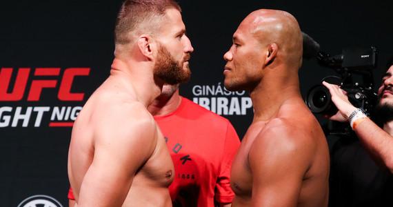 UFC Sao Paulo: wyniki walk na żywo. Czy Jan Błachowicz wygrał?