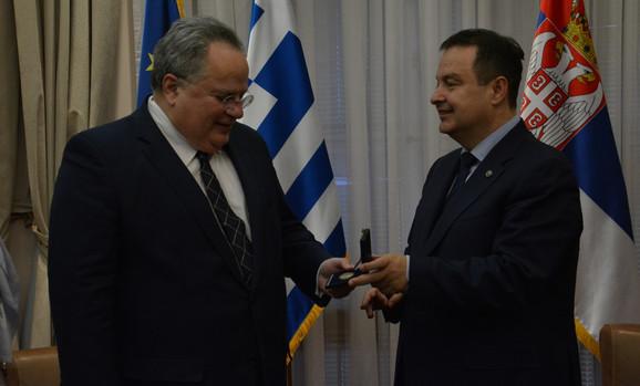 Nikos Kocijas i Ivica Dačić
