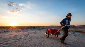 Polak chce samotnie pokonać pustynię Gobi