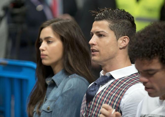 Irina i Kristijano Ronaldo