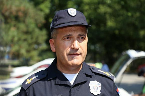 Vladan Gajić, načelnik odeljenja saobraćajne policije PU Subotica
