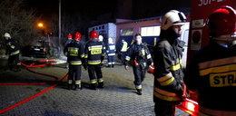 Nocny pożar warsztatu w Opolu. Porachunki?