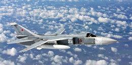 Rosyjski bombowiec spadł na ziemię. Są zabici