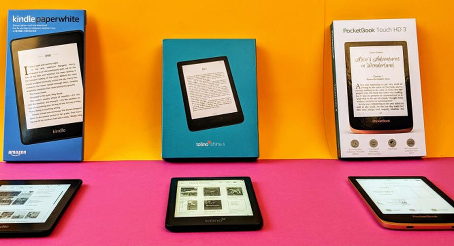 Vergleichstest E-Reader: Tolino vs Paperwhite vs Pocketbook
