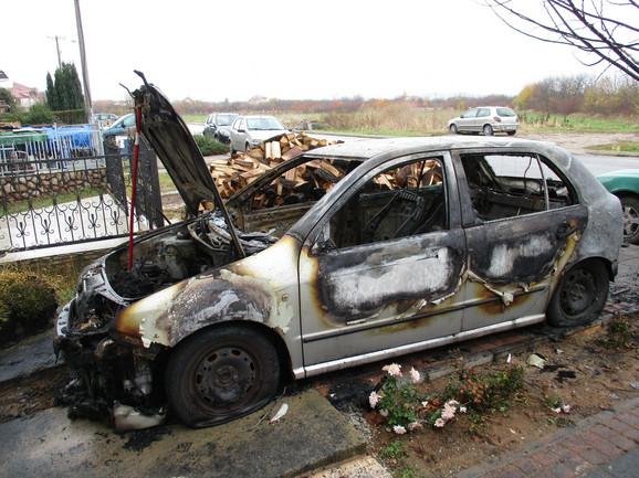 Svojevremeno je u Nišu zapaljen i automobil zamenika gradonačelnika