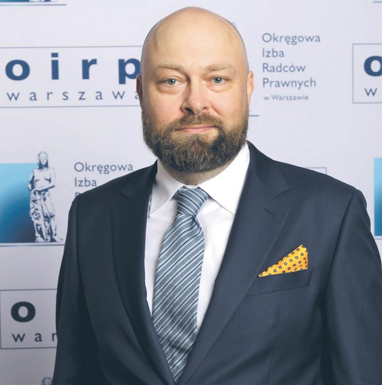 Tomasz Niedziński, rzecznik dyscyplinarny radców prawnych  fot. Piotr Gilarski/Materiały prasowe