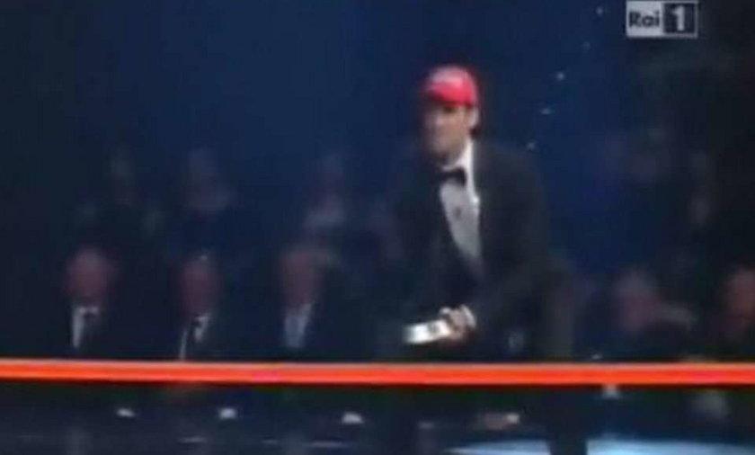 Djoković wystąpił we włoskim show