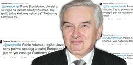 Tadeusz Sznuk drwi z Bronisława Komorowskiego?! Można się nabrać