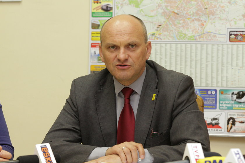 Wiceprezydent Łodzi Radosław Stępień