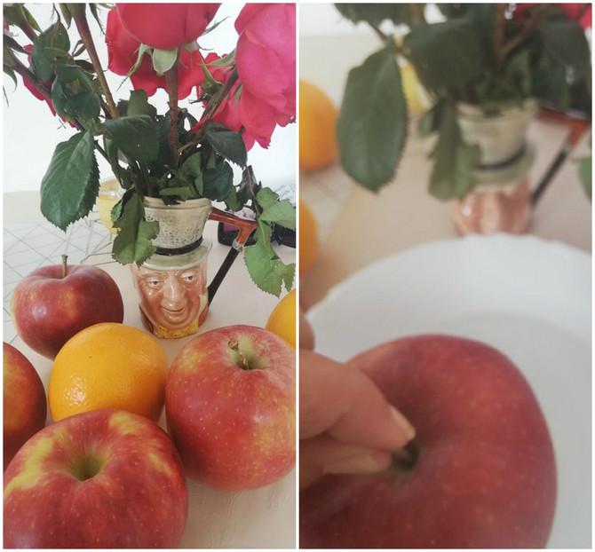 Jeste li probali nekad da jabuke pustite da odstoje u vreloj vodi?