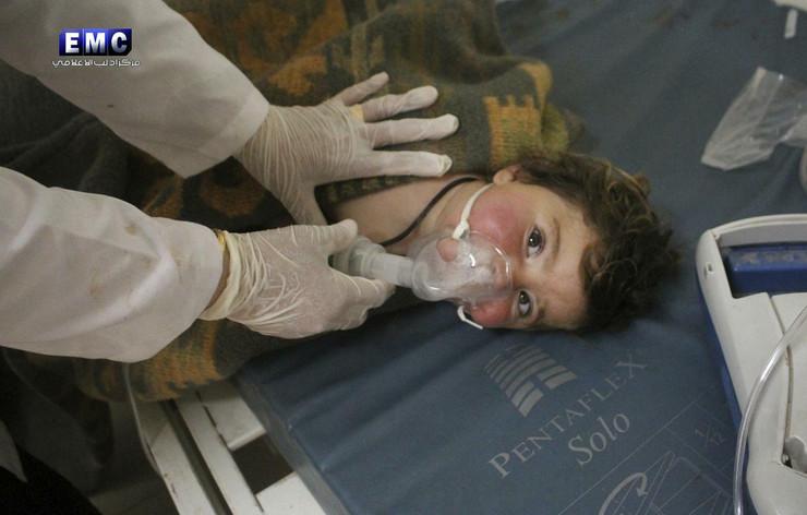 Idlib, Hemijsko oružje, Sirija, Napad