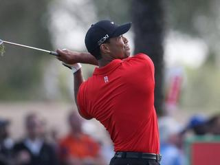 tiger woods red