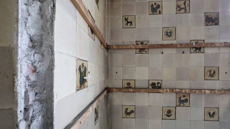 Odkryte pod panelami mozaiki