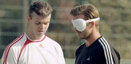 Szok! Beckham stracił wzrok!